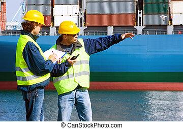 dockers, δουλειά