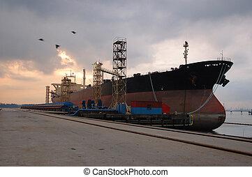 docking vessel I
