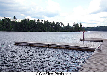docks, lac