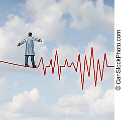 docteur, danger, diagnostic