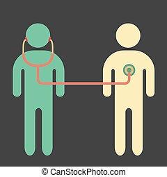 docteur, patient.