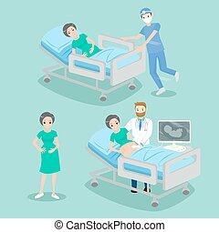 docteur, pregnant
