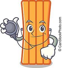 Doctor air mattress character cartoon