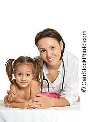 Doctor and girl
