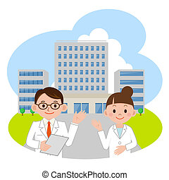 Doctor and hospital