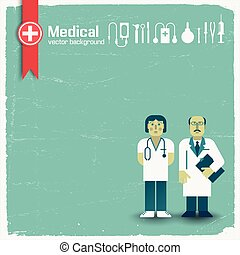 Doctor And Medicine Background