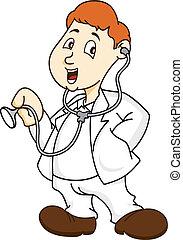 Doctor cartoon