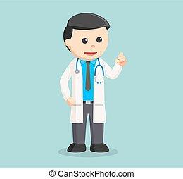 doctor color illustration design