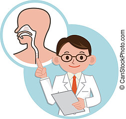 Doctor for a description of the pharynx