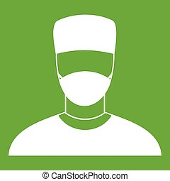 Doctor icon green