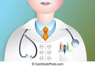Doctor illustration.