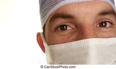 doctor in surgical mask