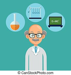 doctor male healthy icons