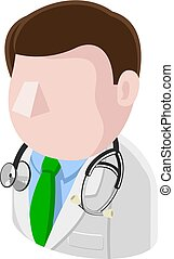 Doctor Man Avatar People Icon