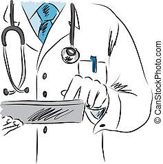 doctor medical illustration