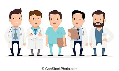 Doctor, medical worker, paramedic.