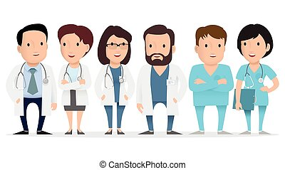Doctor, medical worker, paramedic.