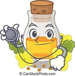 Doctor mustard oil packaged in carton bottle