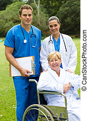 doctor, nurse and patient