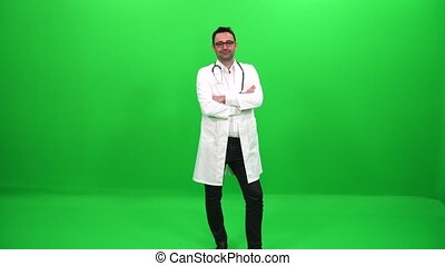 Doctor on Green Screen