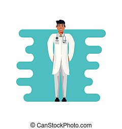 doctor professional avatar character