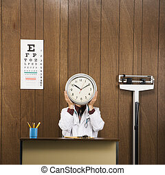 Doctor time concept.