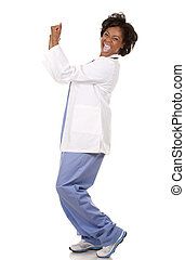 doctor very excited