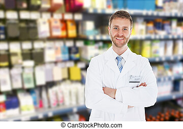 Doctor With Arm Crossed