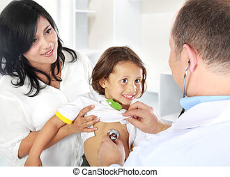 doctor with kid