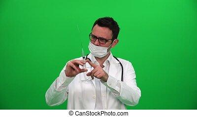 Doctor With Needle