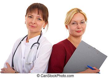 doctor y enfermera