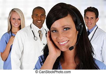 Doctors and Nurse