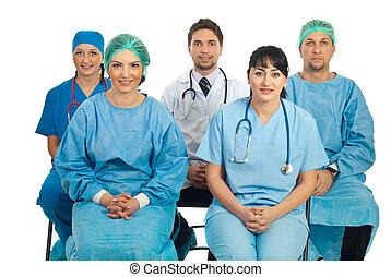 Doctors at seminar