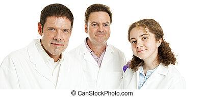 Doctors or Scientists Banner
