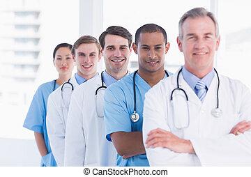 doctors, posición, consecutivo, en, hospital