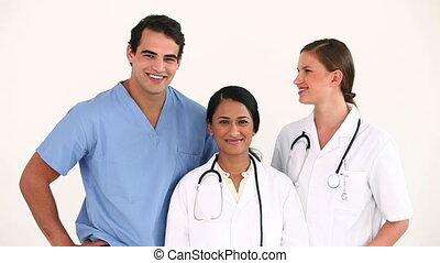 Doctors standing together