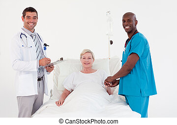 Doctors with a Patient