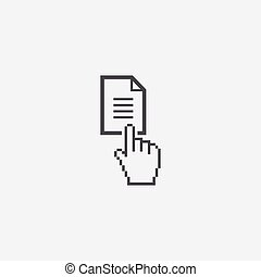 document button icon