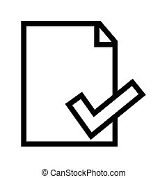 Document File Information/ Properties Icon