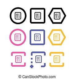 Document icon images