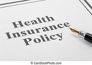 Health Insurance - Document of Health Insurance Policy for...