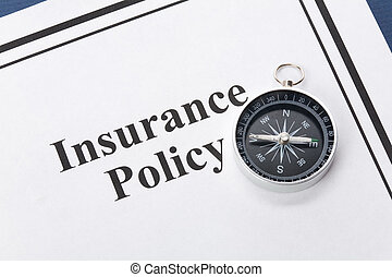 Insurance Policy - Document of Insurance Policy, Life; ...