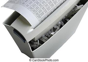 document, papierversnipperaar