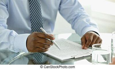 Document reading