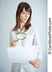 Document scrutiny