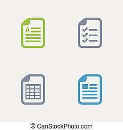 Document Types - Granite Icons