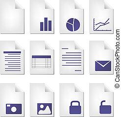 document, types