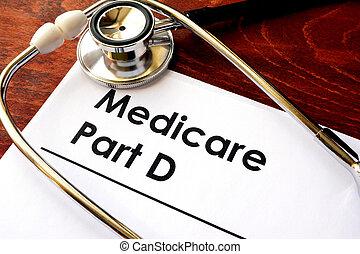 Medicare Part D. - Document with the title Medicare Part D.