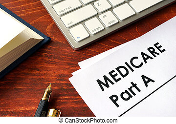 Document with title medicare part a. Medical insurance...
