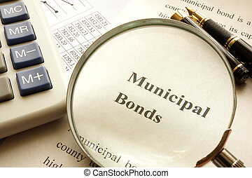 Document with title municipal bond.